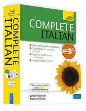 Complete Italian Beginner to Intermediate Book and Audio Course: Learn to Read, Write, Speak and Understand a New Language with Teach Yourself by Clelia Boscolo, Maurice Elston, Lydia Vellaccio (Mixed media product, 2012)