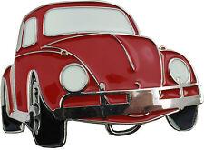 Retro Belt Buckle- Beetle (Red)