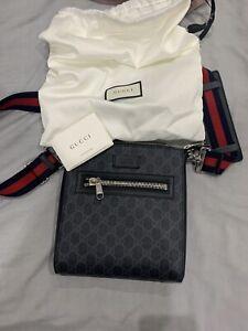 Mens Gucci Messenger Bag Authentic