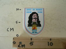 STICKER,DECAL  CONTACT OUD MARINIERS AFDELING ZEELAND M.A. DE RUITER ARMY LEGER