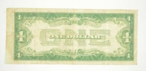 TOUGH 1928-A $1 Funny Back Silver Certificate Monopoly Money Collectible *559