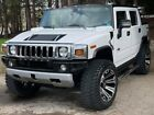 2008 Hummer H2 Sut Sport Utility Truck - Luxury Edition 2008 Hummer H2 Sut Pickup White 4WD Automatic