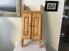 Rustic Cupboard Unit Kitchen Bathroom Wall Vintage handmade Cabinet
