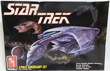 STAR Trek: Ferengi Marauder, Klingon bird of prey & Warbird romulano kit di modelli