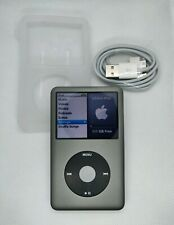 Apple iPod Classic 120GB - 6th gen, grey (refurb, new battery + extras)