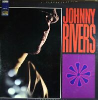 Johnny Rivers 'Whisky A Go-Go Revisited' Vinyl LP Stereo Record (1967) on Sunset