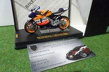 MOTO HONDA RC211V MotoGP 2004 #69 N. HAYDEN REPSOL 1/24 IXO RAB089 miniature