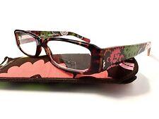 Vera Bradley Tortoise Reading Glasses Phyllis Lola NEW +2.00 Readers