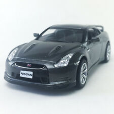 2009 Nissan GT-R R35 Gray Kinsmart 1:36 DieCast Model Toy Car Hobby Collectible
