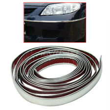 Durable 3m Silver Car Chrome Styling Decoration Moulding Trim Strip Tape 12mm