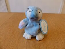 """Me To You Blue Nose Friends Soft Toy - 4""""- Melody The Parrot - No 42"""