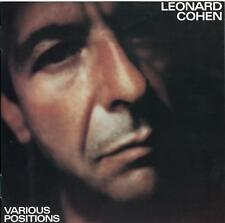 Leonard Cohen - Various Positions - New 140g Vinyl LP + MP3