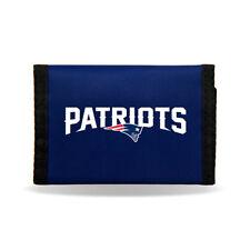 New England Patriots NFL Tri-fold Nylon Wallet FREE SHIP!!