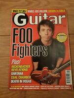 GUITAR MAGAZINE VOL.10 NO.6 ( JANUARY 2000 ) FOO FIGHTERS THE MONKEES SANTANA