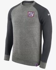86d018180 NWT 90 Men s Nike NFL New York Giants Crew Neck Gray Sweater Size XL (849291