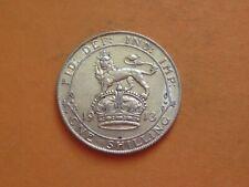 More details for high grade george v 1913 silver shilling coin
