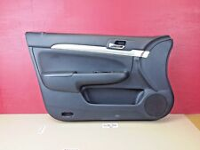 2004-2008 Acura TSX Door Trim Panel Front Left Driver Interior Black OEM