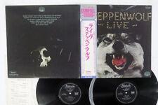 STEPPENWOLF LIVE STATESIDE HP-9443B,4 Japan OBI VINYL 2LP