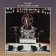 Rush - All The Worlds Stage NEW CD