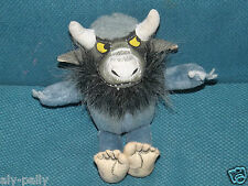"Where The Wild Things Are Monster 6"" jouet crocodile creek Bernard gratuit uk envoi"