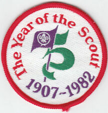 Cloth 1980s Collectable Scout & Guide Badges