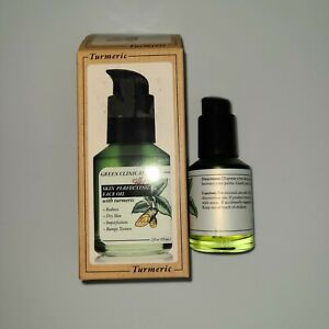 Green Clinicals  Skin Perfecting Face Oil with Turmeric 2fl.oz / 59ml New In Box