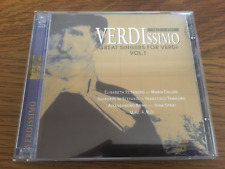 "VERDI ""Verdissimo - Great Singers For Verdi V1"" 2cd Set NEW Callas/Di Stefano"
