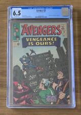 Avengers 20 CGC 6.5 Swordsman and Mandarin Appearance