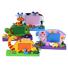 DIY 3D EVA Foam Sticker Cartoon Photo Frame Decor Kids Child Craft Toy Kits