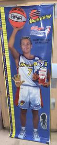 NOS RARE Kelloggs 6' Poster Michelle Timms Phoenix Mercury WNBA Hall of Fame