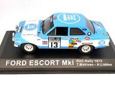 Rare 1:43 Scale Altaya De Agostini Ford Escort Mk1 Rally Car - T Makinen 1973