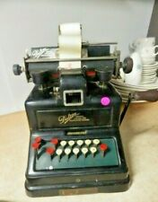 Antique 1900s Dalton Adding LISTING Machine Calculator 1912 NO.69495 WORKS