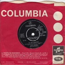 """CLIFF RICHARD..IN THE COUNTRY..EXCELLENT 1966 COLUMBIA POP / BEAT 7""""..DB 8094"""