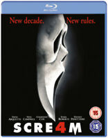 Scream 4 Blu-Ray (2011) David Arquette, Craven (DIR) cert 15 ***NEW***
