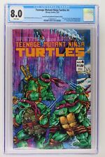 Teenage Mutant Ninja Turtles #4 -Mirage Studios 1987- CGC 8.0 - 2nd Print/ERROR!