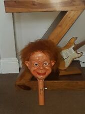 MR PARLANCHIN VENTRILOQUIST DUMMY/HEAD VERY RARE IN FULLY WORKING CONDITION.