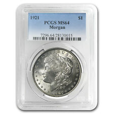 1921 Morgan Silver Dollar MS-64 PCGS - SKU #23352