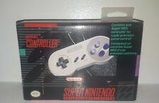 SNES Controller Super Nintendo 1991 In Box OEM Rare Vintage Collector CIB