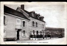 SAINT-BONNET-TRONCAIS (03) AUTOMOBILE à l'HOTEL GREUZAT en 1941