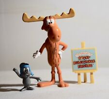 Rocky & Bullwinkle - small toy set