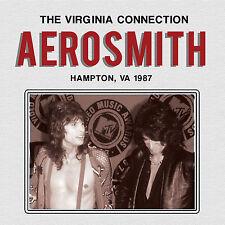 AEROSMITH New Sealed 2018 UNRELEASED LIVE 1987 VIRGINIA CONCERT CD