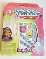 Whirl 'n Wear Headband Girls Swinging Band Hair Accessories, Easter, New