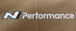 [2-Pack] Hyundai N Performance Logo Fun Sticker i20N i30N Veloster Kona Elantra