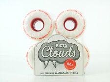 Ricta 55mm 86a Clouds All Terrain Skateboard Wheels