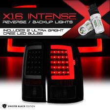"Cree LED Reverse 2007-2013 GMC Sierra 1500 2500 3500 ""SINISTER BLACK"" Tail Light"