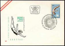 Austria 1974 Swimming, Diving FDC First Day Cover #C15355