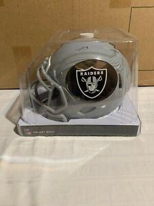 "Las Vegas Raiders NFL Helmet Piggy Bank 6"" Forever Collectibles Brand New"