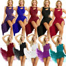 Women's Lyrical Dress Contemporary Ballet Dance Leotard Latin Dancewear Costume