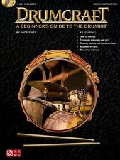 Drumcraft: A Beginner's Guide to The Drum Kit Book/2CDs