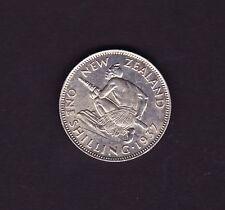 New Zealand 1937 Shilling
